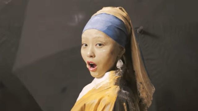 张靓颖新歌MV里的13幅世界名画
