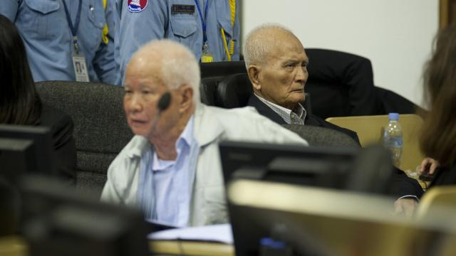 红色高棉案终了,前领导判终身监禁