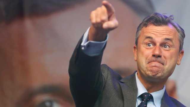 奥地利总统候选人谴责欧盟对俄制裁