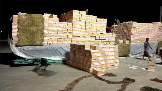 云南特大运毒案:香蕉藏冰毒165斤