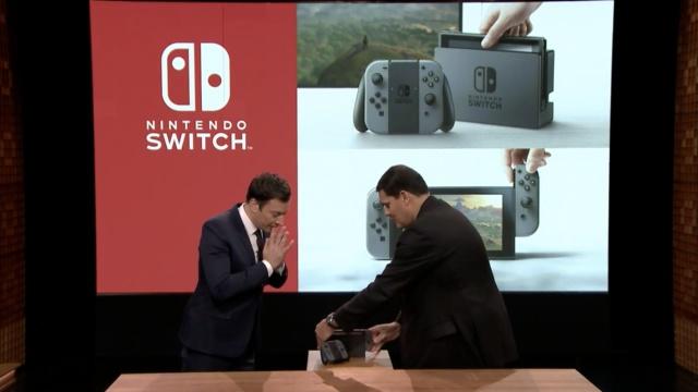 任天堂Switch首曝真机演示