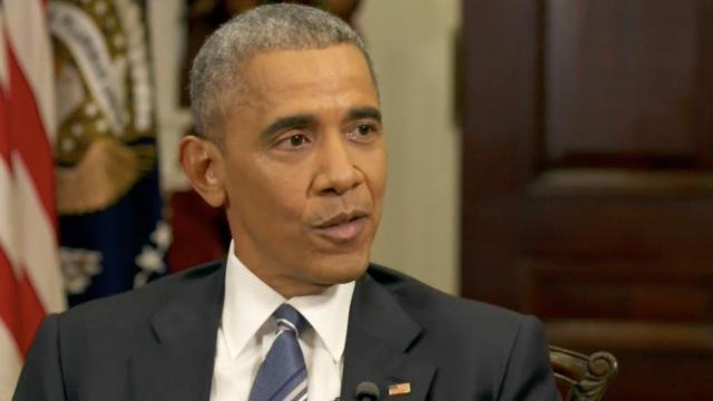 奥巴马:严查黑客干涉大选事件