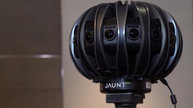 这台怪兽就是世界最牛VR摄影机?