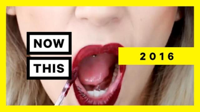 2016年,这些挑战风靡社交网络