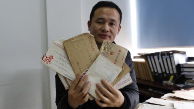 """平湖""""傅雷""""十多年寄200多封家书"""