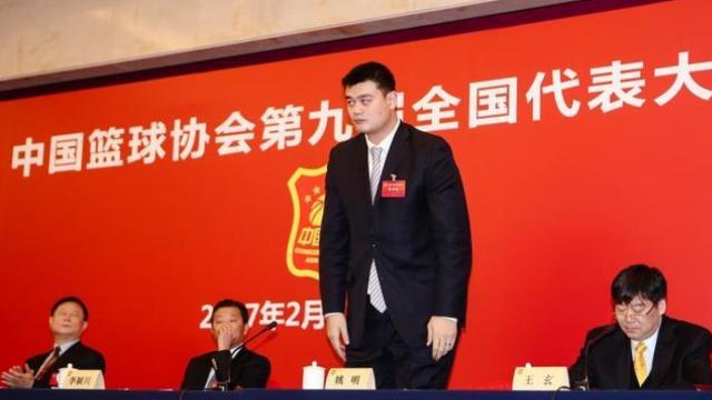 全票通过!37岁姚明当选篮协主席