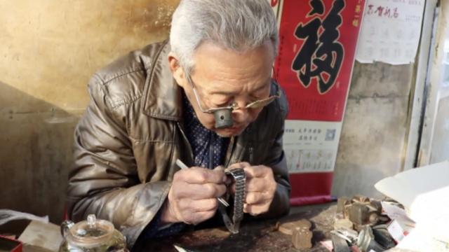 他55年修表过万,30年前顾客仍找他