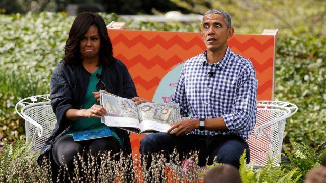 起步价1800万!奥巴马夫妇新书成交