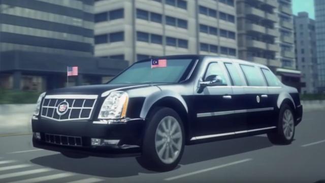 一分钟详解:川普的总统专车有多牛