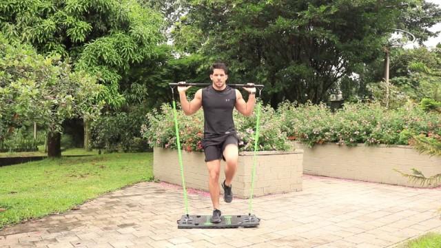 多合一健身器,把健身房搬回家