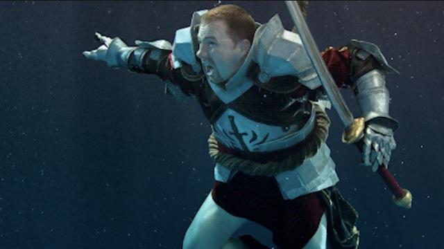 水下拍摄cosplay大片,美如仙境!