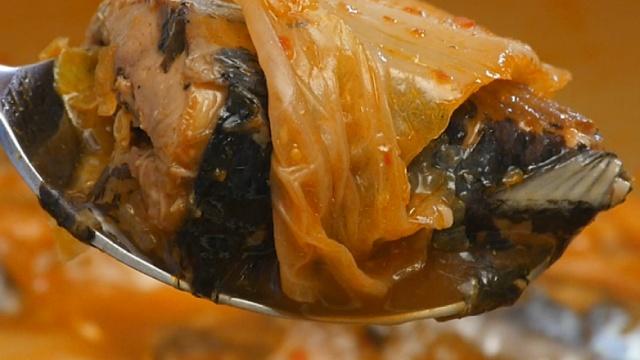 无法自拔!秋刀鱼与泡菜的交融