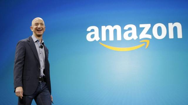 世界首富要换人!亚马逊老板逼近盖茨