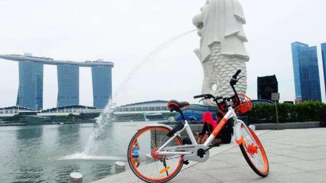 摩拜ofo大战新加坡,市民担忧安全