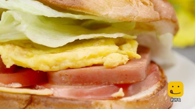 2分钟教你自制好吃的三明治