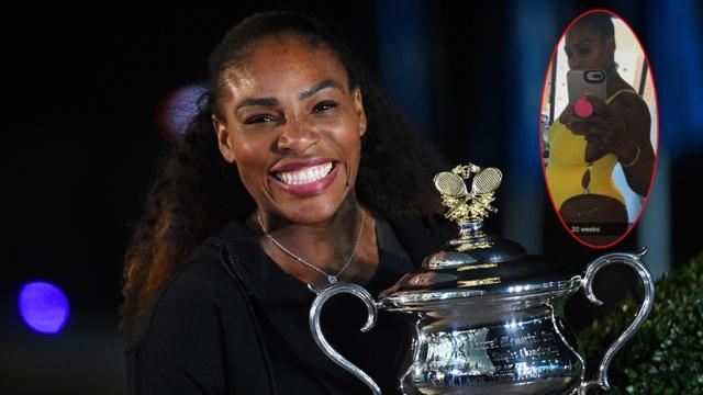 彪悍人生!小威怀孕期拿下澳网冠军