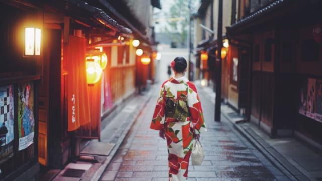 京都散步,遇见春天的时刻