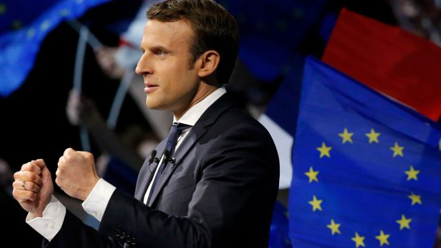 马克龙为何能成为法国最年轻总统