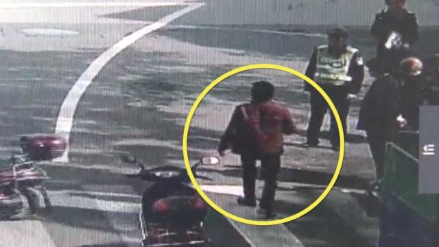 醉酒男骑车找不到路,他偏偏问警察