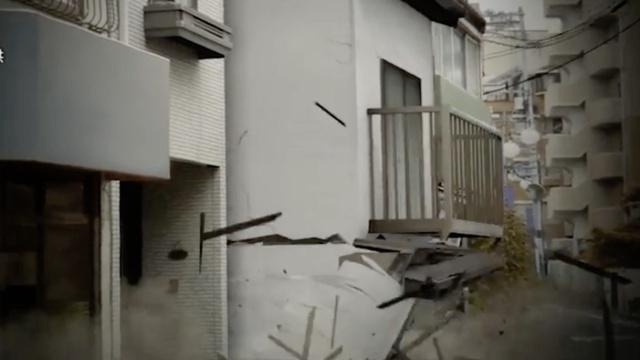 日本发布强震模拟动画:真实残酷