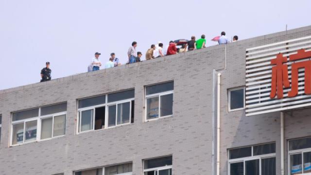 杭州一市场发生劳资纠纷