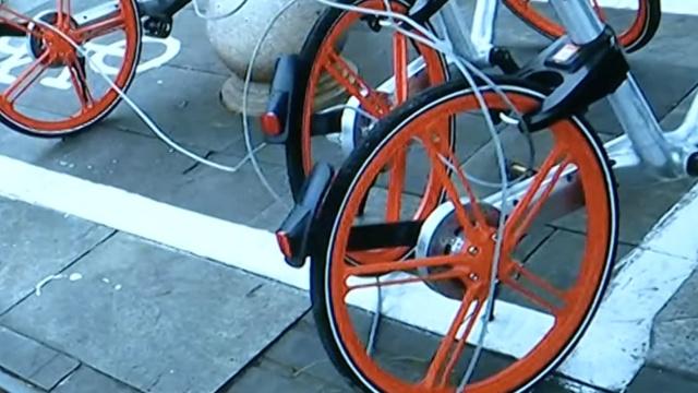 私锁5辆共享单车,浙江男子被拘3日