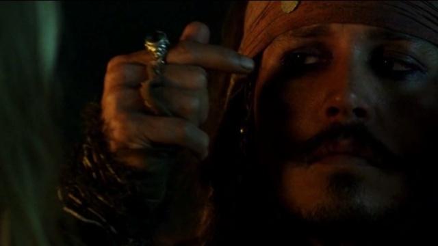 加勒比海盗,杰克船长的小把戏