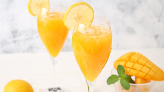 柠香芒果汁,美味减脂的夏季冷饮