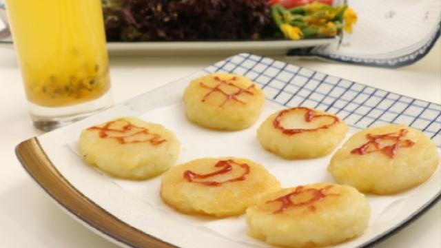 小孩大人都爱吃的快手美味薯饼
