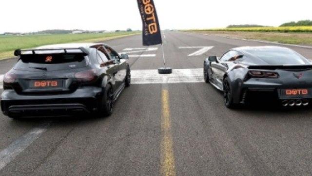 A45与克尔维特Grand Sport直线对决