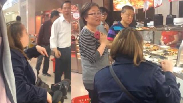 白人女叫嚣华人:不说英文就回中国