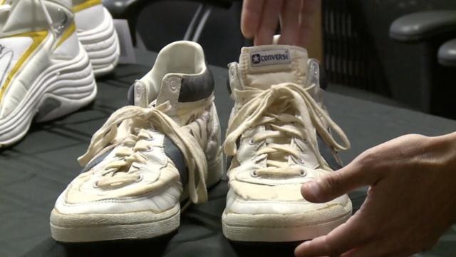 乔丹33年前穿的这双鞋,卖出80万元