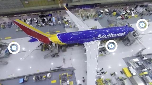 360度参观波音737怎么造出来的