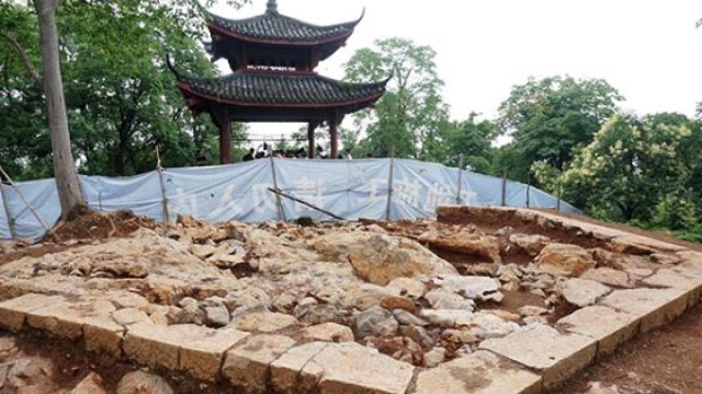 杭州南高峰塔考古发掘撩开面纱
