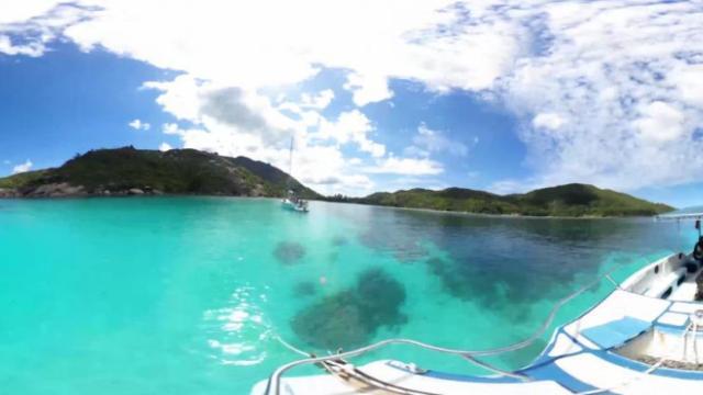 中东非洲沙滩海岛游艇潜水一日游