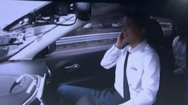 李彦宏乘无人车上五环,遭交管调查