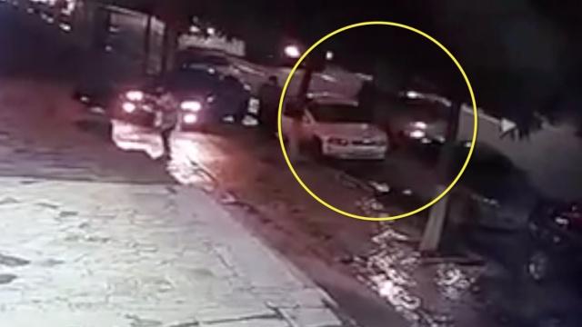 他醉驾撞倒一开门司机,又撞3车逃逸