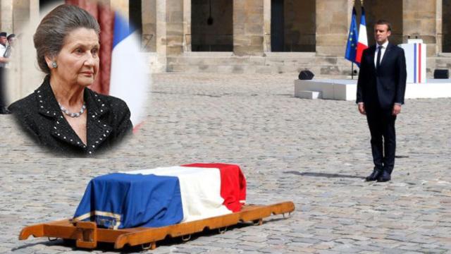 她使法国堕胎合法化,总统为她国葬