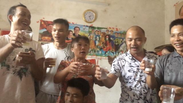 唱山歌敬酒迎客百年,这村因人唱歌