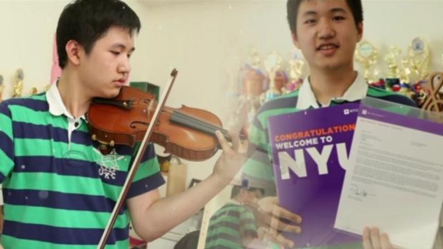 智商160!纽约大学录取13岁台湾神童