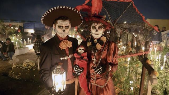 别样墨西哥,庆祝死亡的亡灵节