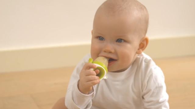 婴儿咬咬乐,让你家宝宝爱上辅食!