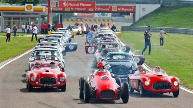 70周年庆典,法拉利老爷车悉数亮相