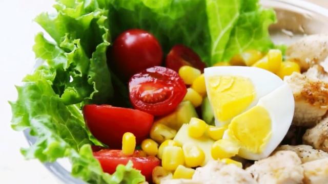 低脂营养的完美沙拉公式