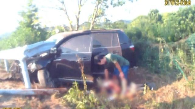 悔!他疲劳驾驶撞护栏,害死15岁儿子