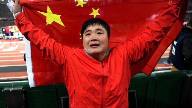 世锦赛中国首金!她为这1冠等了10年