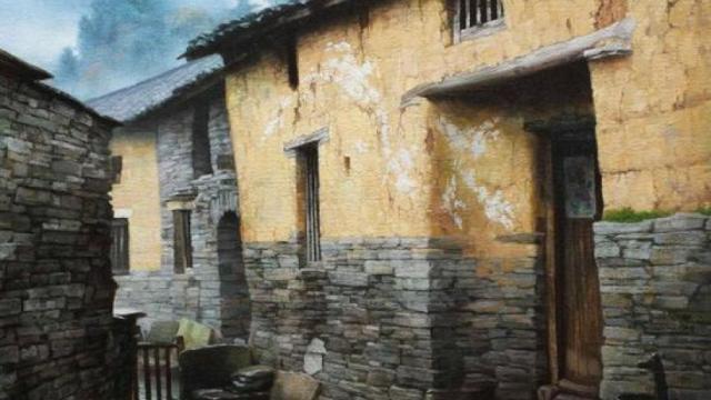 湘西在的历史在他的油画里