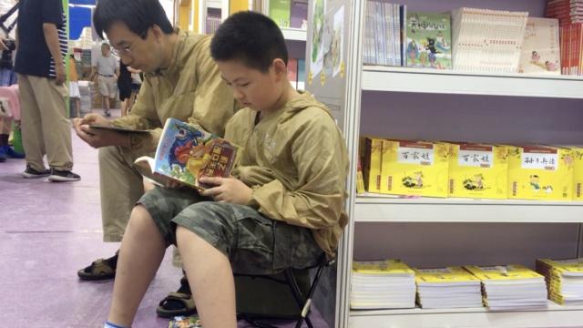 上海书展开幕,最活跃当属