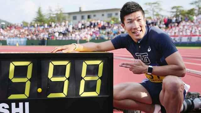 日本学生百米9秒98,刷新苏炳添纪录