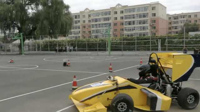 41名师生手工打造F1赛车,花费50万
